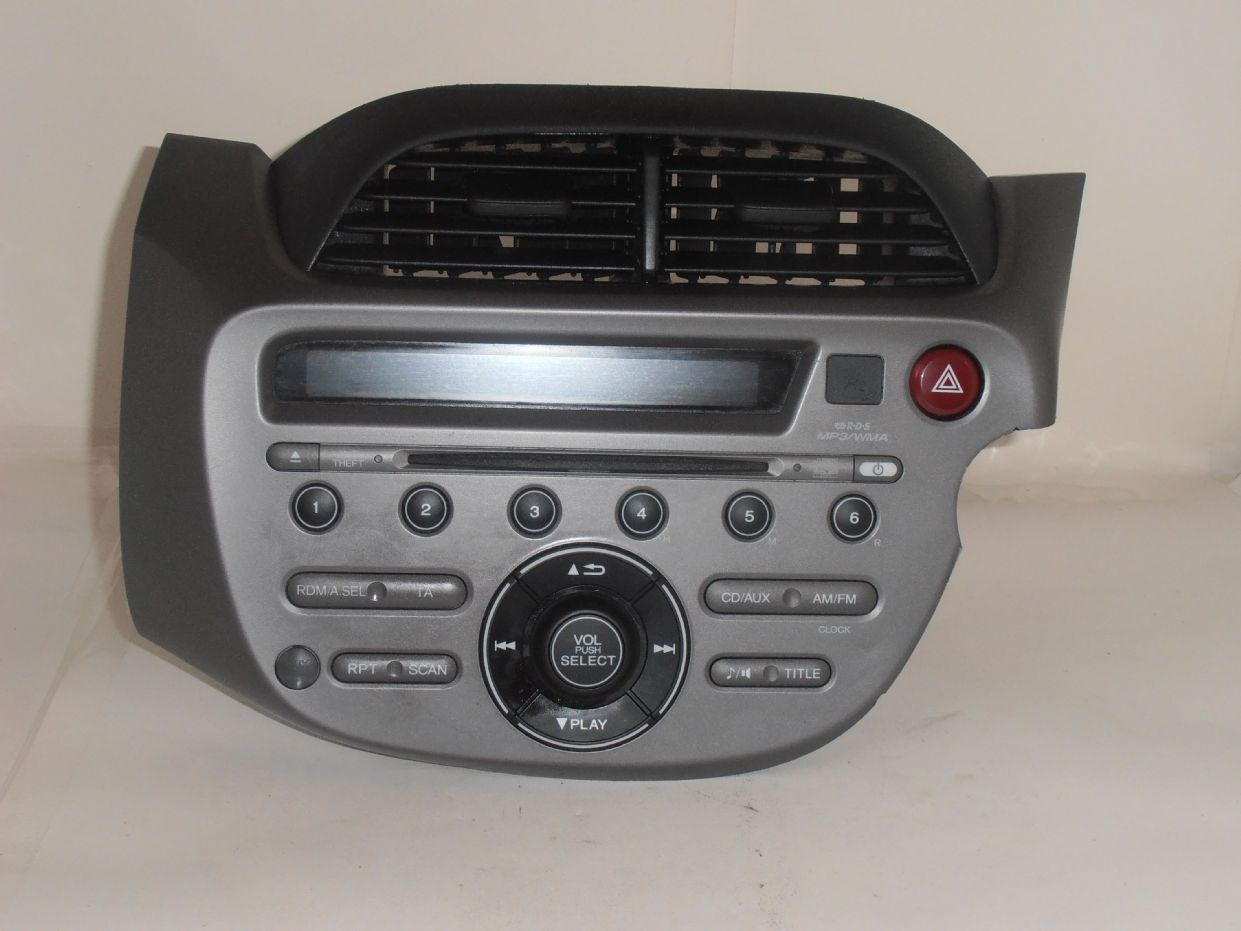 Genuine Honda Jazz New Shape Wma Radio Cd Mp3 Player With